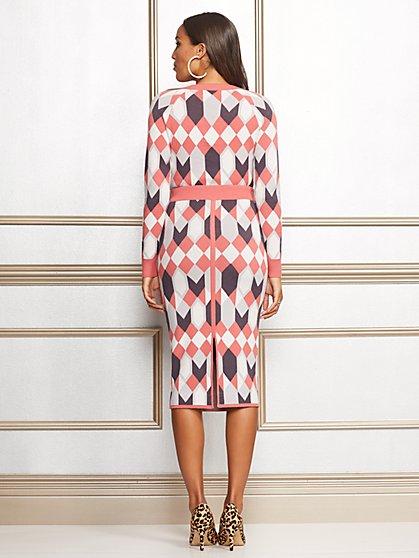 ... Eva Mendes Collection - Geo-Print Kelli Sweater Skirt - New York & Company ...