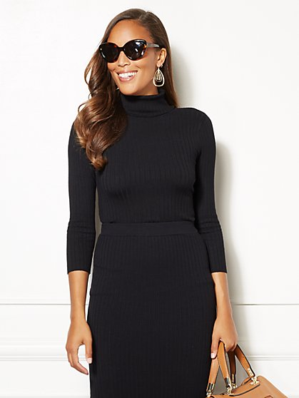 Eva Mendes Collection - Jalisa Turtleneck Sweater - New York & Company