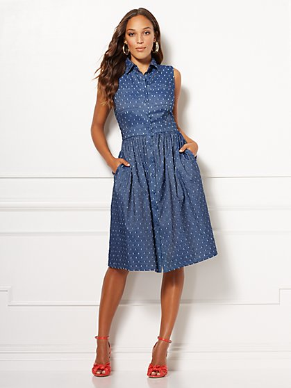 Eva Mendes Collection - Marcela Shirtdress - New York & Company