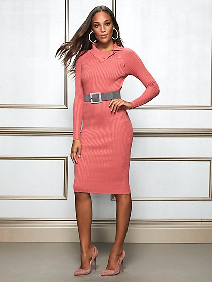 Eva Mendes Collection - Petite Cherie Sweater Dress - New York & Company