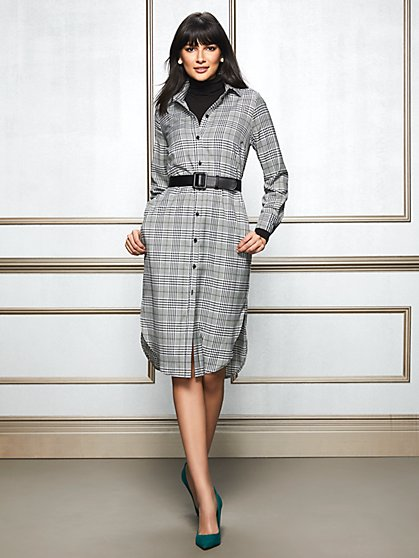 Eva Mendes Collection - Petite Lynda Shirtdress - New York & Company