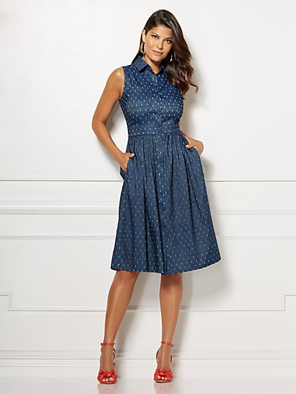 Eva Mendes Collection - Petite Marcela Shirtdress - New York & Company