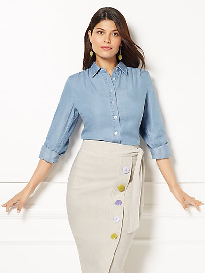 Eva Mendes Collection - Reva Blouse - New York & Company
