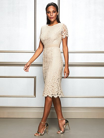Eva Mendes Collection - Romina Lace Sheath Dress - New York & Company