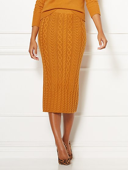 Eva Mendes Collection - Shania Sweater Skirt - New York & Company