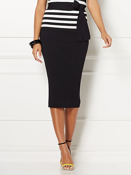 Eva Mendes Collection - Shonda Sweater Skirt - New York & Company