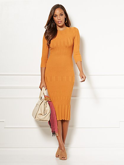 Eva Mendes Collection - Tall Dasha Sweater Dress - New York & Company