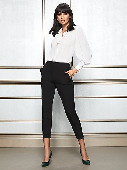 Eva Mendes Collection - Tall Doria Black Pant - New York & Company