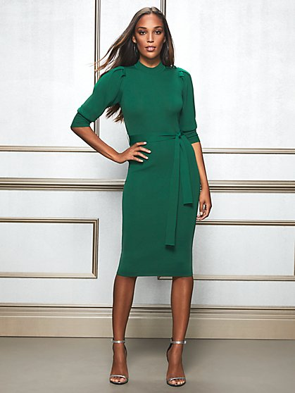 Eva Mendes Collection - Tall Elisabeth Sweater Dress - New York & Company