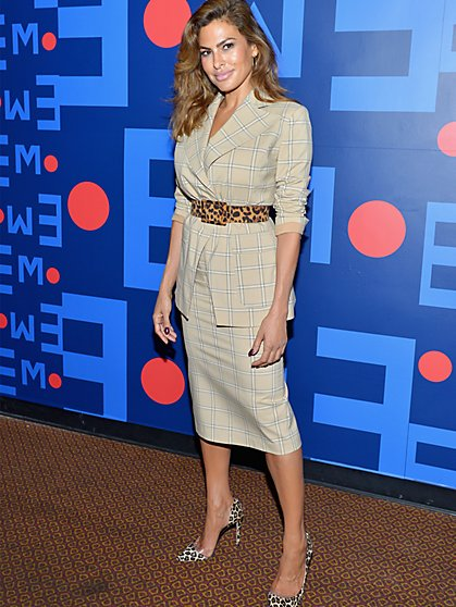 Eva Mendes Collection - Tall Plaid Peyton Blazer - New York & Company