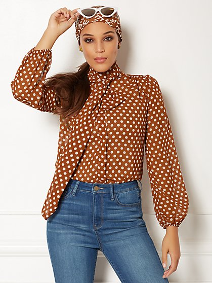 Eva Mendes Collection - Taryn Bow Blouse - New York & Company
