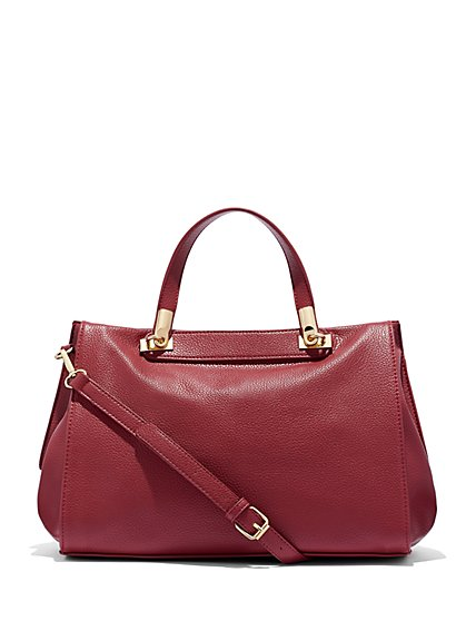 Eva Mendes Collection - Top-Handle Satchel - New York & Company