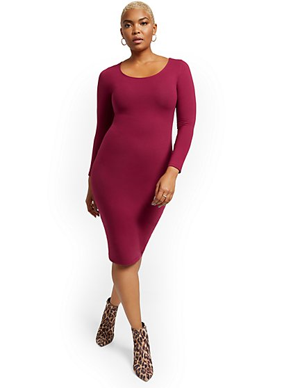 Everywhere Midi Dress - New York & Company