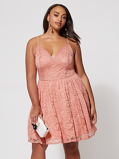 FTF Annalise Lace Dress - New York & Company