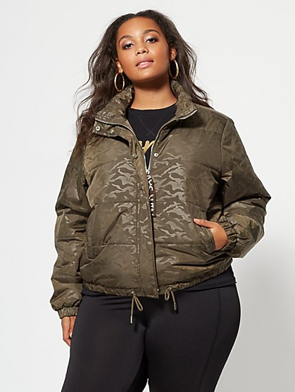 FTF Camo Puffer Jacket - New York & Company