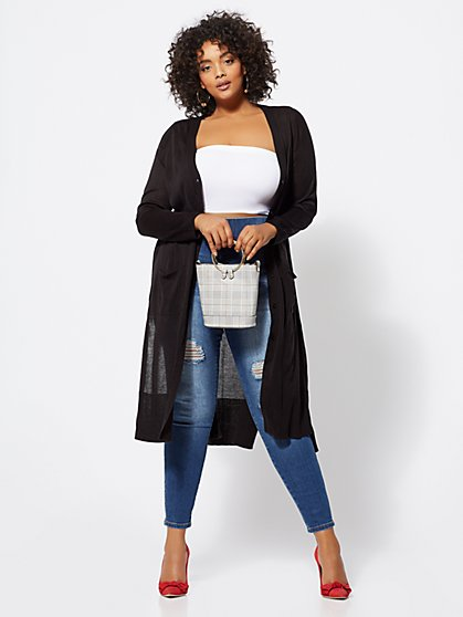 FTF Courtney Duster Cardigan - New York & Company