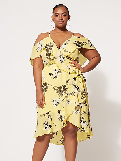 FTF Dahlia Floral Dress - New York & Company
