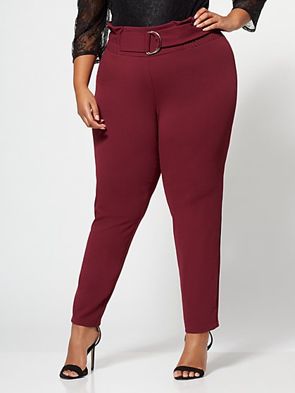 FTF Dani D-Ring Pants - New York & Company