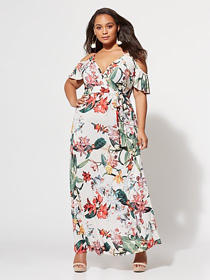 FTF Keilani Maxi Dress - New York & Company