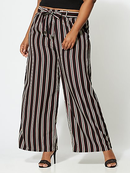 FTF Liana Wide-Leg Pants - New York & Company
