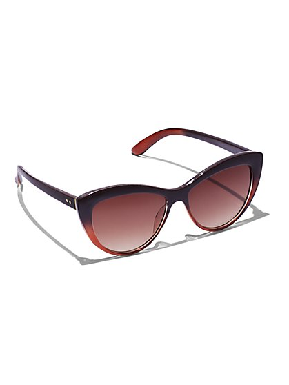 FTF Sassy Cat Eye Sunglasses - New York & Company
