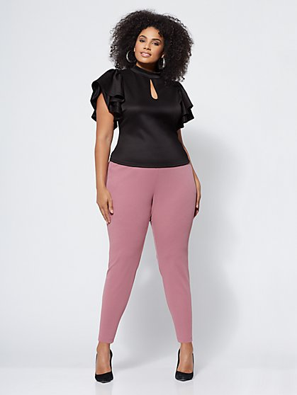 FTF Sheila Pintuck Jogger Pants - New York & Company