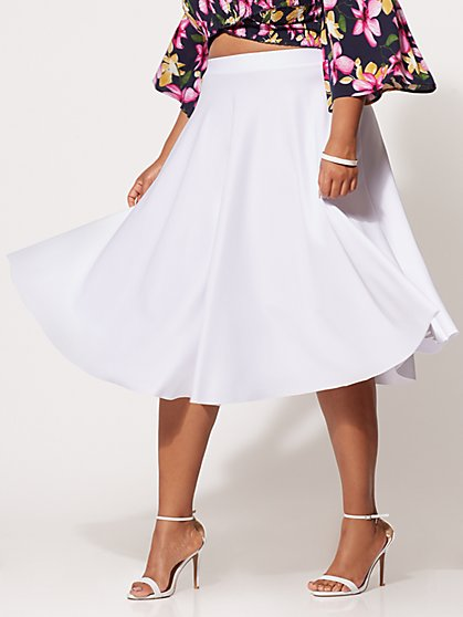 FTF Simone Flare Skirt - New York & Company