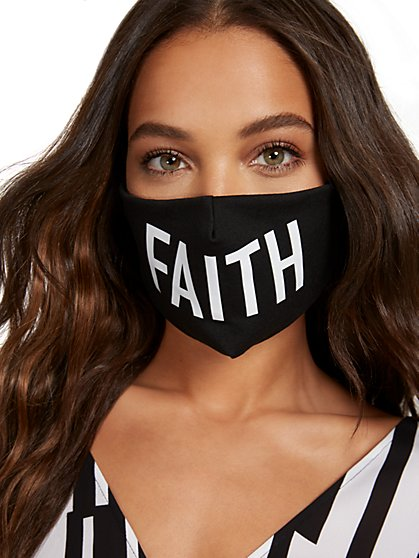 Faith Face Mask - New York & Company