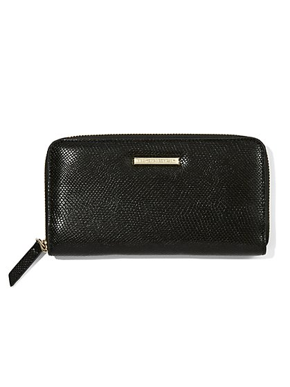 Faux-Leather Wallet - New York & Company