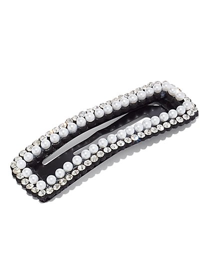 Faux-Pearl Barrette - New York & Company