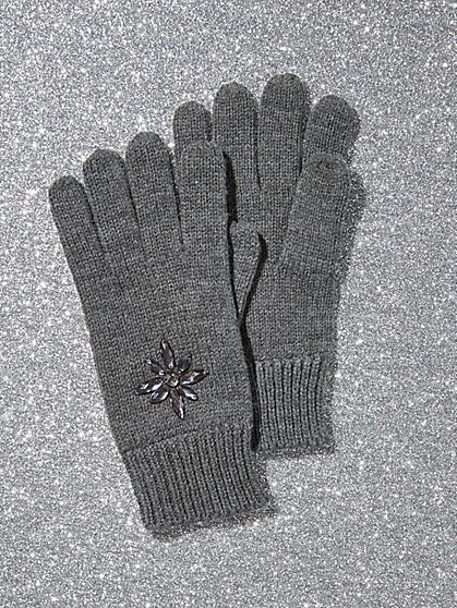 Faux-Stone Glove - New York & Company