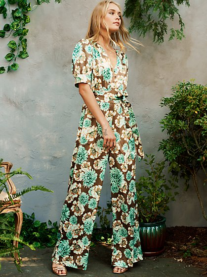 Felicity Jumpsuit in Chateau Floral - New York & Company