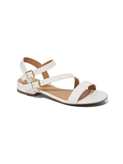 Flat Ankle-Strap Sandal - New York & Company