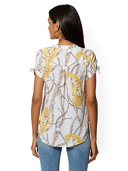 494e7354b06 Women's Soho Shirts - Cropped, Printed & Sleeveless | NY&C