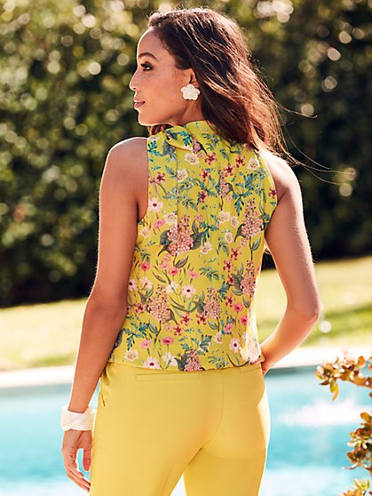 4e741ad4dd6 ... Floral Halter Bow Blouse - Sweet Pea - New York   Company ...