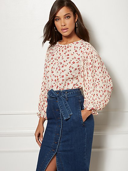 Floral Layla Blouse - Eva Mendes Collection - New York & Company