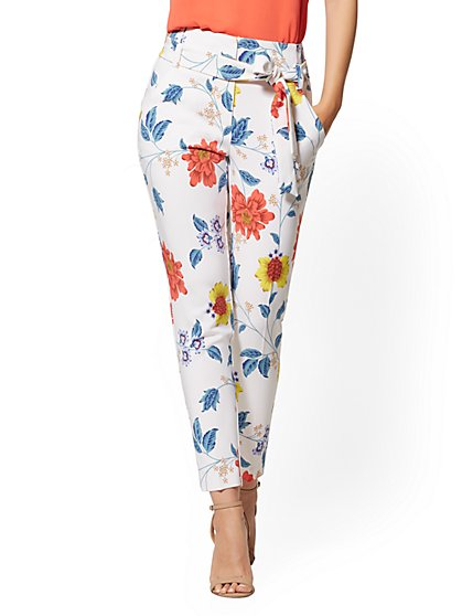 Floral Madie Pant - 7th Avenue - New York & Company