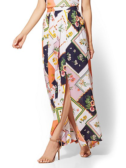 Floral Maxi Skirt - New York & Company