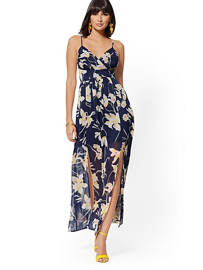 Floral Maxi Sundress - New York & Company