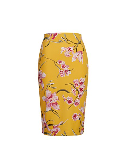 Floral Pencil Skirt - New York & Company