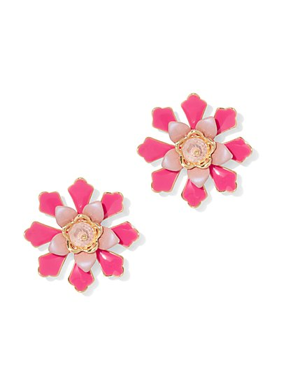 Floral Post Earring - New York & Company