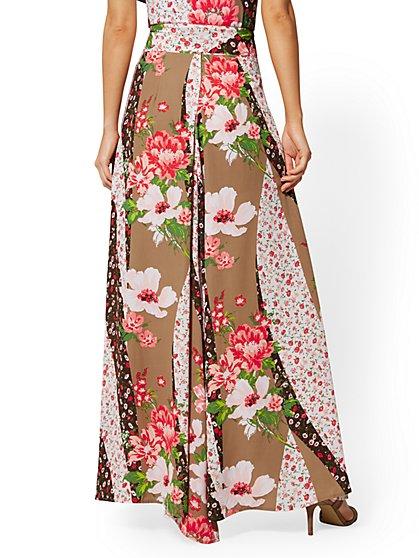 f53b07dd3c ... Floral Ruffled Maxi Skirt - New York & Company ...