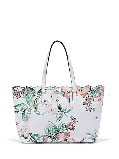 Floral Tote Bag - New York & Company