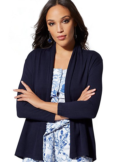 Flyaway Cardigan - 7th Avenue - New York & Company