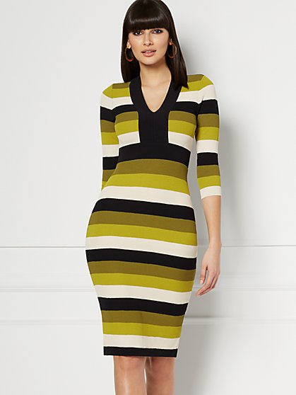 Francesca Sweater Dress - Eva Mendes Collection - New York & Company