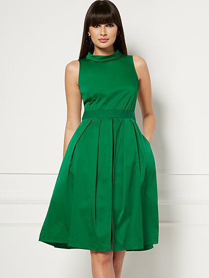 Freya Taffeta Dress - Eva Mendes Fiesta Collection - New York & Company
