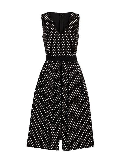 Freya V-Neck Dress - Eva Mendes Fiesta Collection - New York & Company