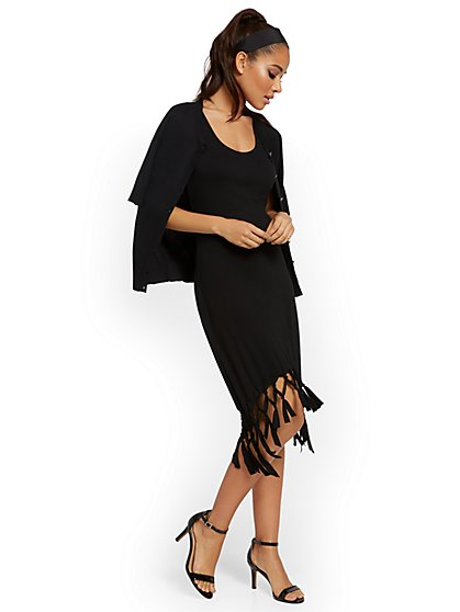 Fringe Tank Dress - New York & Company