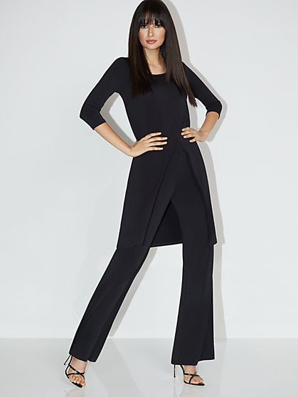 Front-Slit Tunic Top - NY&C Style System - New York & Company