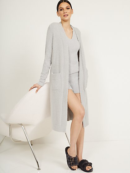 Fuzzy Long Cardigan - Ultra Cozy Collection - New York & Company